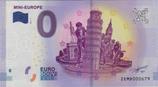 Billet touristique 0€ Mini Europe 2017