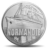 10 euros argent Le Normandie 2014