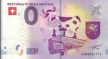 Billet touristique 0€ Restoroute de la gruyère 2018