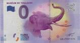 Billet touristique 0€ Muséum de Toulouse 2017