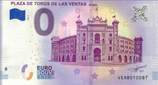 Billet touristique 0€ Plaza de toros de las ventas Madrid 2018