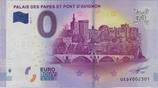 Billet touristique 0€ Palais des papes et pont d'Avignon 2017