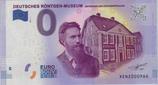 Billet touristique 0€ Deutsches Rontgen museum 2017