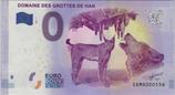 Billet touristique 0€ Domaine des grottes de Han 2017