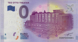 Billet touristique 0€ Teo Otto theater 2017