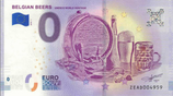 Billet touristique 0€ Belgian beers 2018