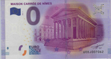 Billet touristique 0€ Maison carrée de Nîmes 2016