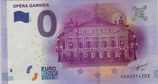 Billet touristique 0€ Opéra Garnier 2016