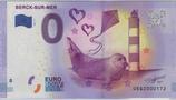 Billet touristique 0€ Berck sur Mer Phoque 2017