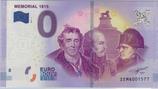 Billet touristique 0€ Mémorial 1815 2017