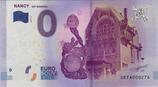 Billet touristique 0€ Nancy Art nouveau 2017