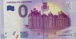 Billet touristique 0€ Chateau de Cheverny 2017