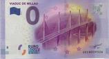 Billet touristique 0€ Viaduc de Millau 2016