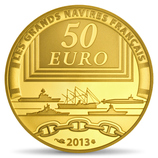 50 euros La gloire 2013 en or 1/4 oz
