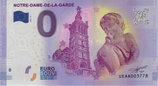 Billet touristique 0€ Notre Dame de la Garde Tour et angelot 2017