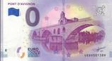 Billet touristique 0€ Pont d'Avignon 2018