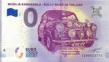 Billet touristique 0€ Mobilia Kangasala Rally museum Finland 2018