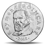 10 euros argent Raymond Poincaré 2015