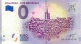 Billet touristique 0€ Donzenac cité médiévale 2018