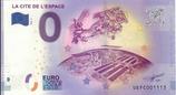 Billet touristique 0€ La cité de l'espace 2018