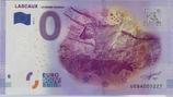 Billet touristique 0€ Lascaux Le grand taureau 2016