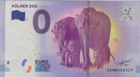 Billet touristique 0€ Kolner zoo éléphants 2017