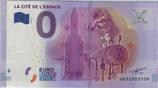 Billet touristique 0€ La cité de l'espace 2016