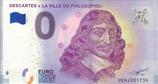 Billet touristique 0€ Descartes La ville du philosophe 2018