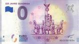 Billet touristique 0€ 225 jahre Quadriga 2018