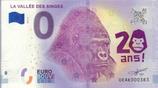 Billet touristique 0€ La vallée des singes 2018