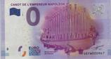 Billet touristique 0€ Canot de l'Empereur Napoléon Ier 2016