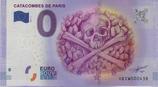 Billet touristique 0€ Catacombes de Paris 2016