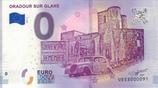 Billet touristique 0€ Oradour sur Glane 2018