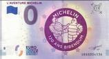 Billet touristique 0€ L'aventure Michelin 120 ans Bibendum 2018