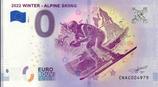 Billet touristique 0€ 2022 Winter Alpine skiing 2018
