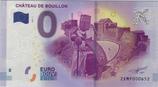 Billet touristique 0€ Chateau de Bouillon 2017