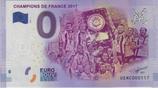 Billet touristique 0€ Champions de France 2017