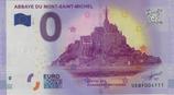 Billet touristique 0€ Abbaye du Mont Saint Michel 2017
