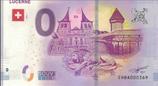 Billet touristique 0€ Lucerne 2018