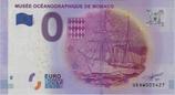 Billet touristique 0€ Musée océanographique de Monaco navire 2016