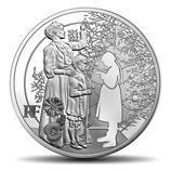 10 euros argent Les hommes et les femmes dans la Grande guerre Les fraternisés 2015