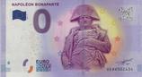 Billet touristique 0€ Napoléon Bonaparte 2017