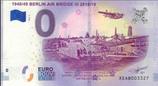 Billet touristique 0€ Berlin air bridge III 2018