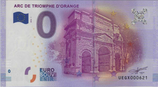 Billet touristique 0€ Arc de triomphe d'Orange 2016