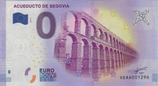 Billet touristique 0€ Acueducto de Segovia 2017