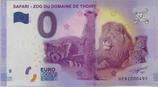 Billet touristique 0€ Safari Zoo du domaine de Thoiry 2017