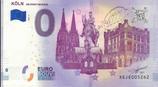 Billet touristique 0€ Koln 2018