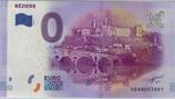 Billet touristique 0€ Béziers 2016
