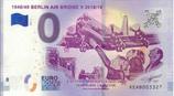 Billet touristique 0€ Berlin air bridge II 2018