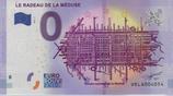 Billet touristique 0€ Le radeau de la méduse 2017
